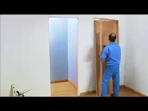 Montaje de una puerta artevi en 6 pasos youtube for Como cambiar una puerta de interior