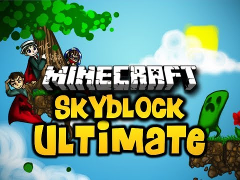 Minecraft Skyblock ULTIMATE Ep. 5 w/ Luclin &amp; Wolv21 (HD)