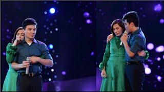 Phi Nhung rớt nước mắt, ôm Mạnh Quỳnh ngay trên sân khấu(tin tuc sao viet)
