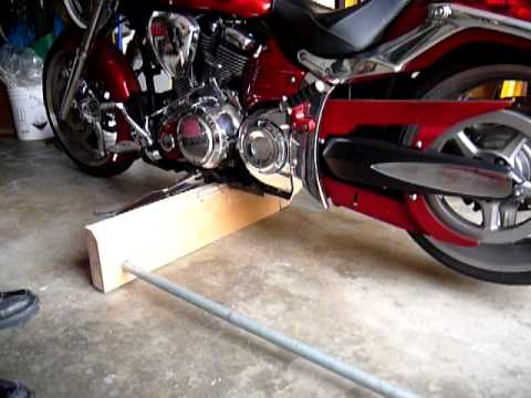 Raider Motorcycle Quick Lift Jack Youtube
