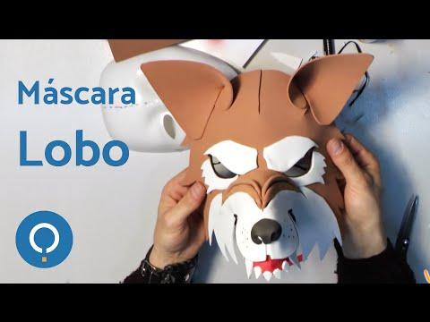 Video Como hacer una máscara de lobo feroz. 1/2   Torpes.com