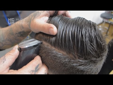 English Gentlemans Barber Master Class with Commentary