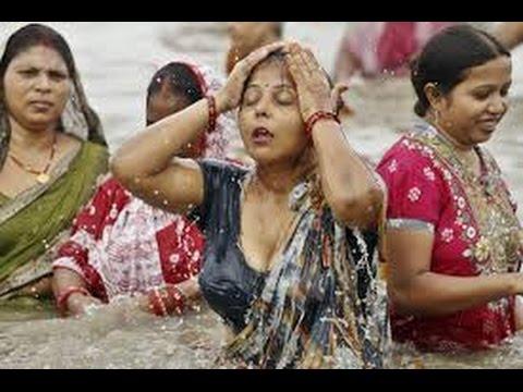 Ganga snan ( OPEN BATH ) हरिद्वार यात्रा -  HARIDWAR YATRA