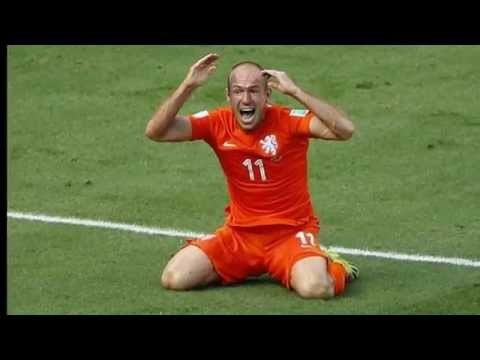 Arjen Robben Diving Compilation Crying