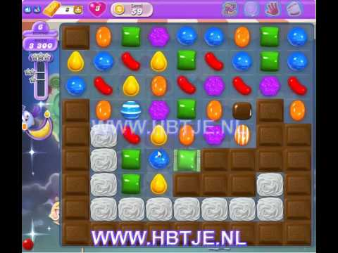 Candy Crush Saga Dreamworld level 59