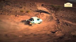 Clip vidéo AUTO Etape 2 - Rallye OiLibya du Maroc 2013