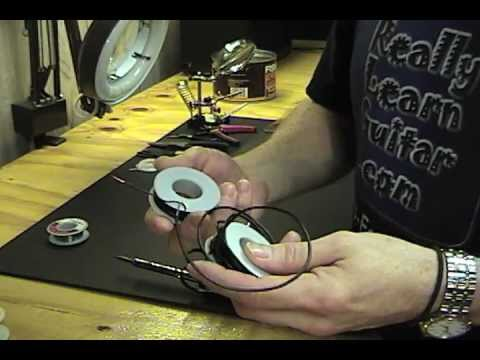 Guitar Repairs - Proper Soldering Technique