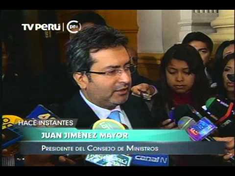 Jiménez: César Villanueva está dispuesto a continuar diálogo iniciado con partidos