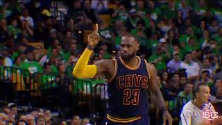 The comparisons between MJ, LeBron are endless | SportsCenter | ESPN