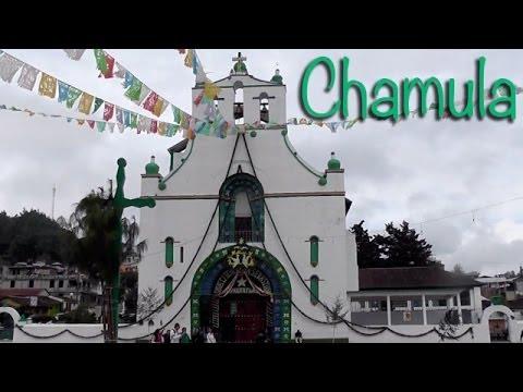 SAN JUAN CHAMULA - TEMPLO DE SAN SEBASTIÁN Y ALREDEDORES FULL HD
