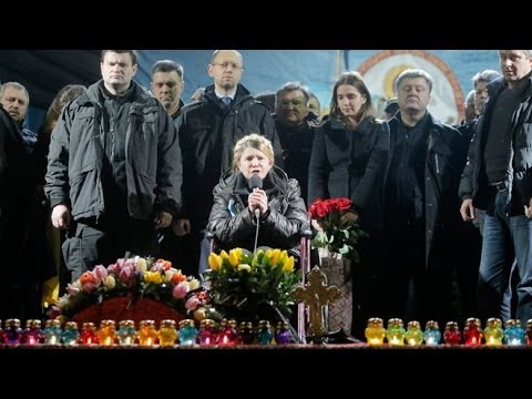 LIVE NEWS(VIDEO):Ukraine Ex-PM Yulia Tymoshenko Addresses Crowds After Release From Prison