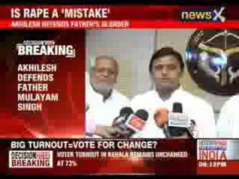 Akhilesh Yadav defends father Mulayam singh