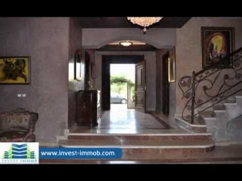 achat villa luxe marrakech immobilier youtube