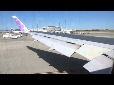 Hawaiian Airlines 767 - Taxi & Takeoff from Sacramento Int'l Airport