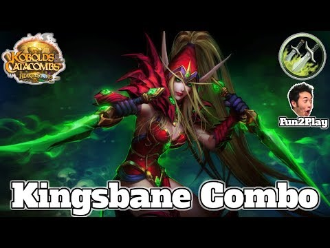 Gameplay Kingsbane Combo Rogue Kobolds And Catacombs | Hearthstone Guide How To Play