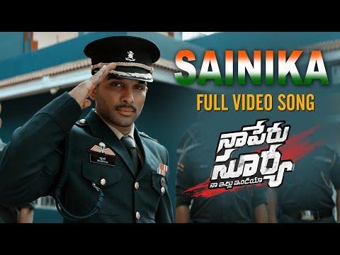 Sainika-Video-Song