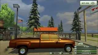 Farming Simulator 2013 Mod Chevy 3500 Pick-up Truck