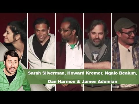 Sarah Silverman, Howard Kremer, Ngaio Bealum, Dan Harmon & James Adomian | Getting Doug with High