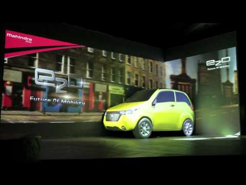 MAHINDRA REVA E2O 3D PROJECTION MAPPING  IN THIMPHU