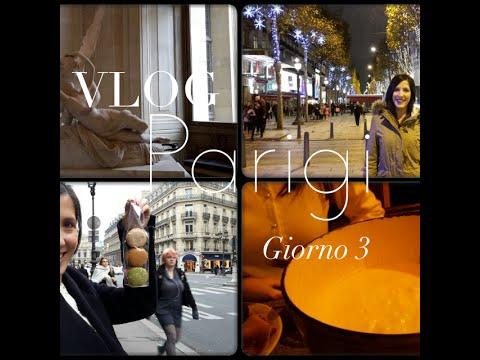 VLOG PARIGI: Louvre, tentato furto, Macarons e Champs Elysees! | DAY 3