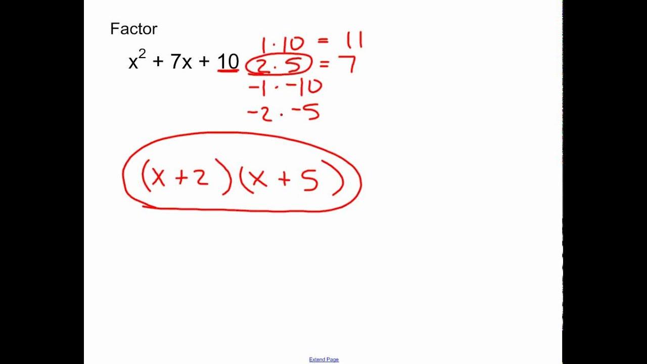 Worksheets Factoring X2 Bx C Worksheet collection of factoring x2 bx c worksheet bloggakuten