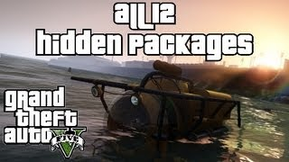Grand Theft Auto 5 Hidden Package Locations GTA V All 12