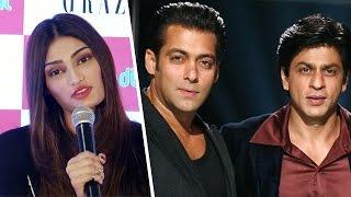 Athiya Shetty Chooses Shahrukh Khan Over Mentor Salman Khan