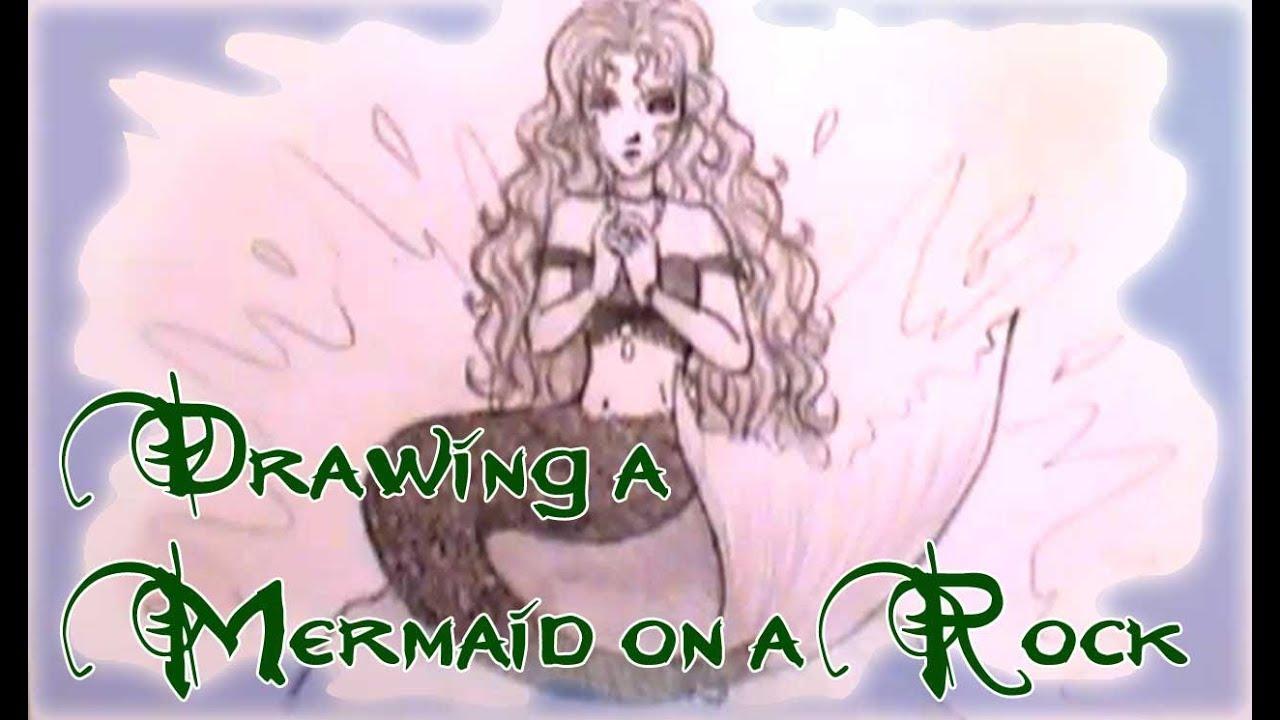 how to draw mermaids youtube