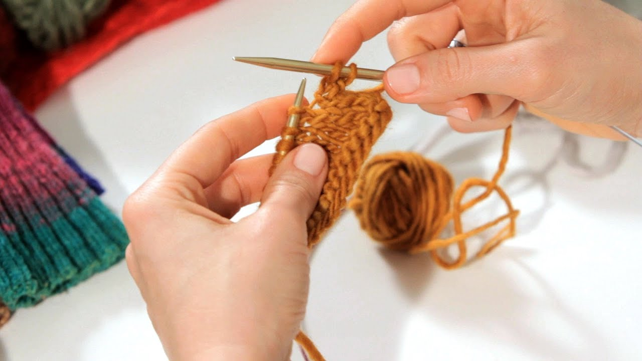 Knitting Left Handed Ssk : How to do an ssk aka left leaning decrease knitting