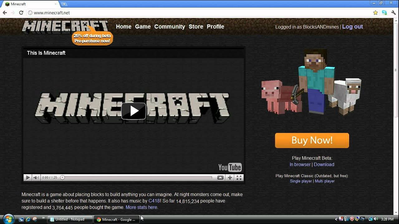minecraft play online without downloading