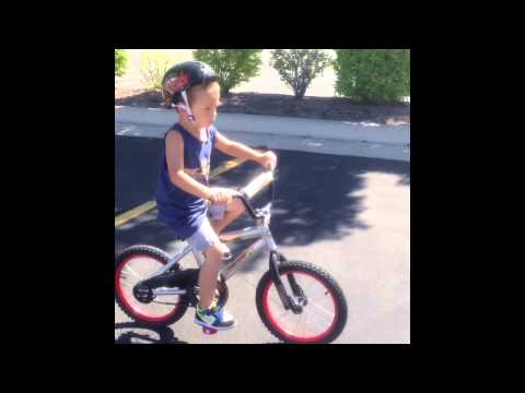 Coop no training wheels