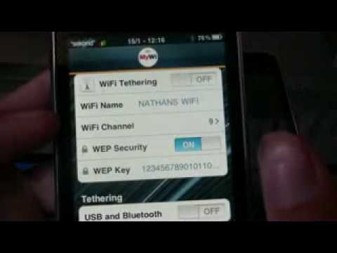 how to turn on hotspot on iphone 4