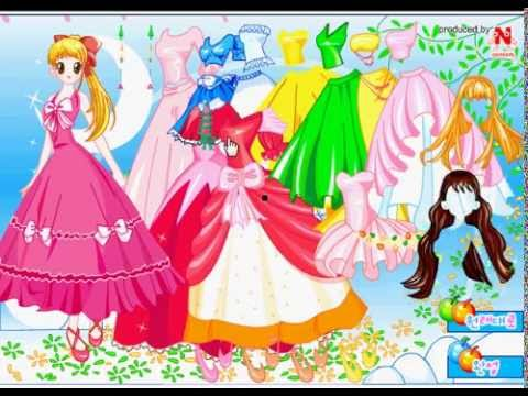 Game thời trang công chúa lọ lem
