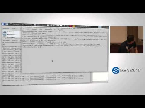 Image from vIPer, a new tool to work with IPython notebooks; SciPy 2013 Presentations