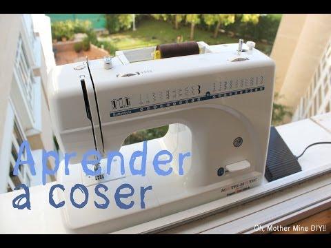 Clases de costura: Las partes de la máquina de coser + Consejos para comprar una