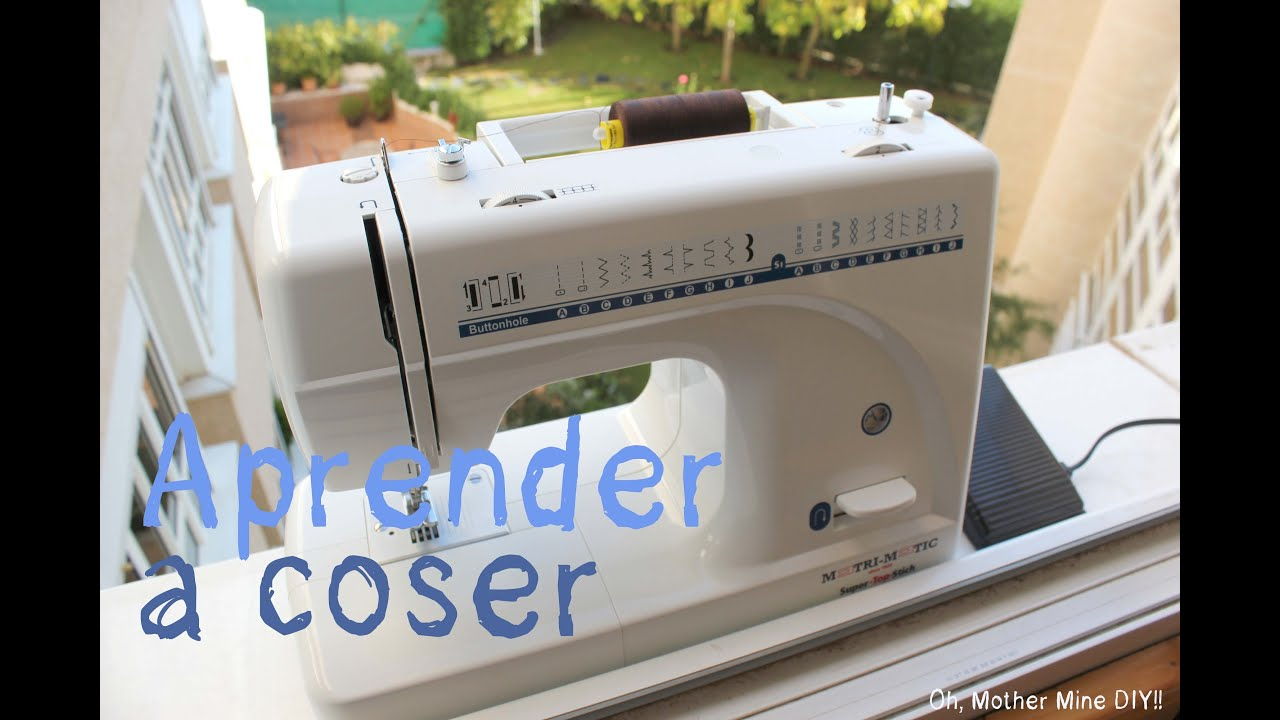 Clases de costura: Las partes de la máquina de coser