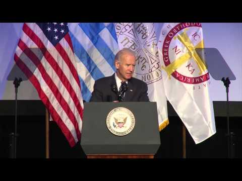 Address of Vice President Joe Biden at the Grand Banquet of Clergy-Laity 2014