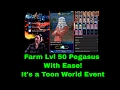 Lvl 50 Pegasus Farm The Almighty Relinquished Deck With Ease YuGiOh Duel Links w MasKScarin