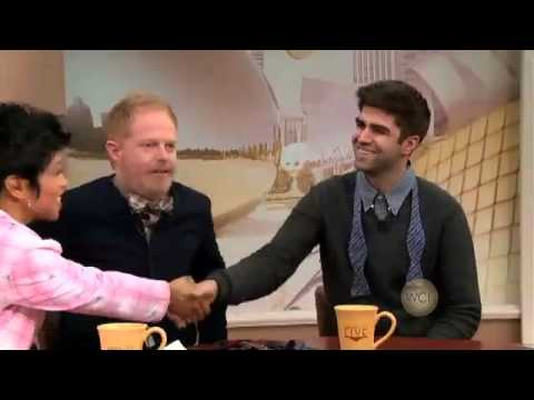 Jesse Tyler Ferguson Appears on Windy City LIVE: Talks Marriage Equality & Spills His Wedding Plans