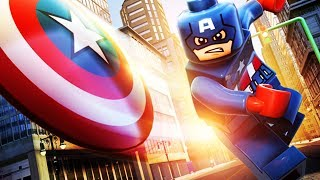 LEGO Marvel Super Heroes 3D The Movie Game 2 Captain