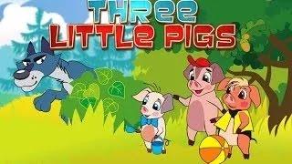 The 3 Little Pigs Cartoon Movie In Hindi
