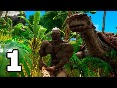 PRIMER DÍA CON DINOSAURIOS!! ARK: Survival Evolved #1