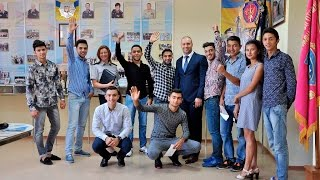 На навчання до університету прибула перша група іноземних студентів