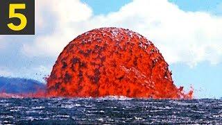 Top 5 Lava VS Water Videos