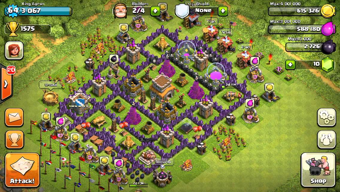 How to set up clash of clans