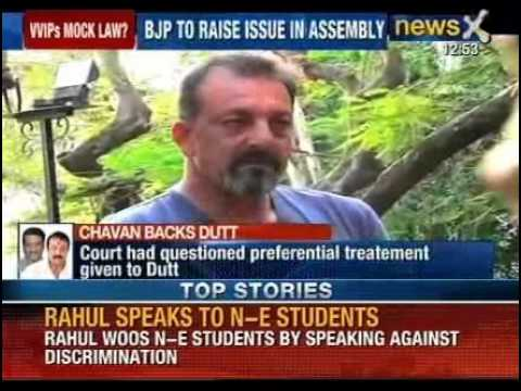 BJP to raise Sanjay Dutt's parole issue in Assembly