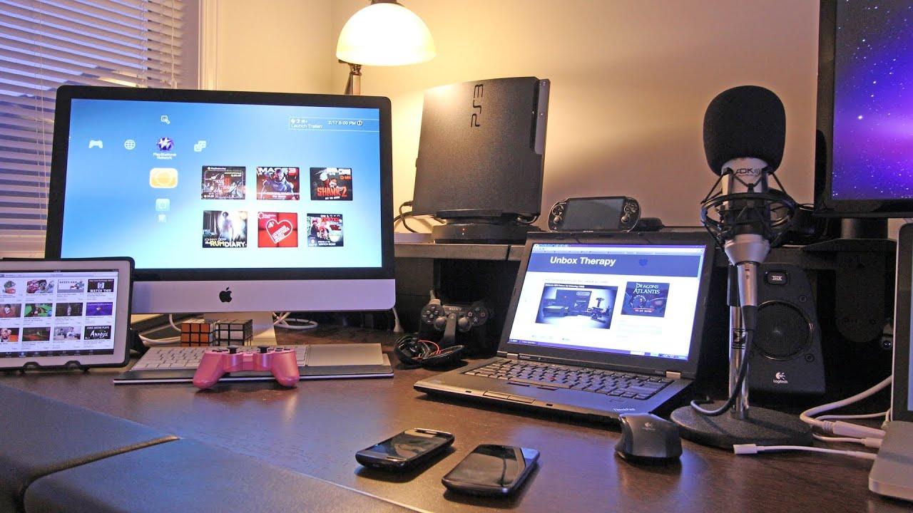 Best Gaming Setup    Desk Setup  Room Tour  2012