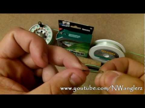 HOW TO CONNECT FLY LINE TO MONO *Uni Knot / Loop to Loop / Perfection Loop*