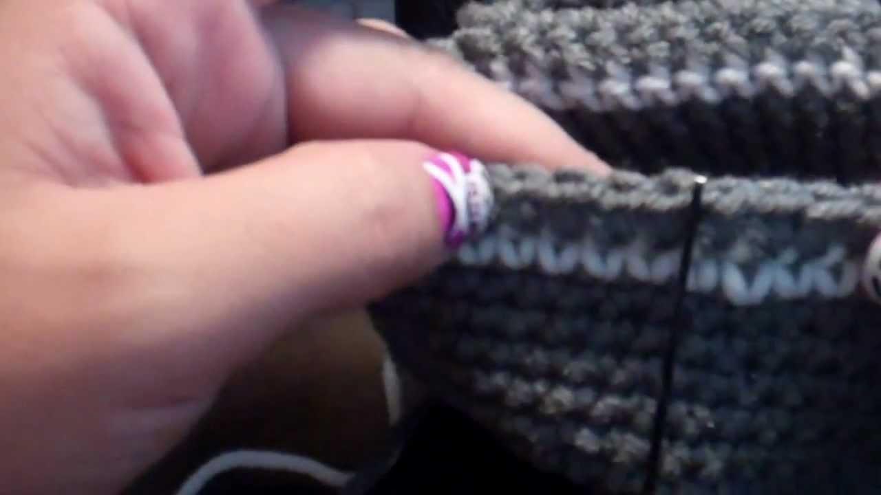 Tutorial-Crochet Newborn baby Beanie with earflaps - YouTube