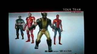 Marvel: Ultimate Alliance 2 All Playable Characters